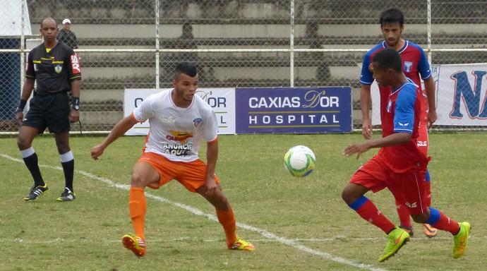 Duque de Caxias x Guaratinguetá (Foto: Vitor Costa/Duque de Caxias FC)