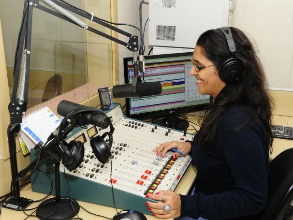Estrutura de rádio no Centro de Comunicação da UFMG (Foto: Divulgação/ Cedecom)