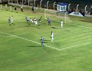 Gol do Colatina (Foto: Reprodução/TV Gazeta Noroeste)