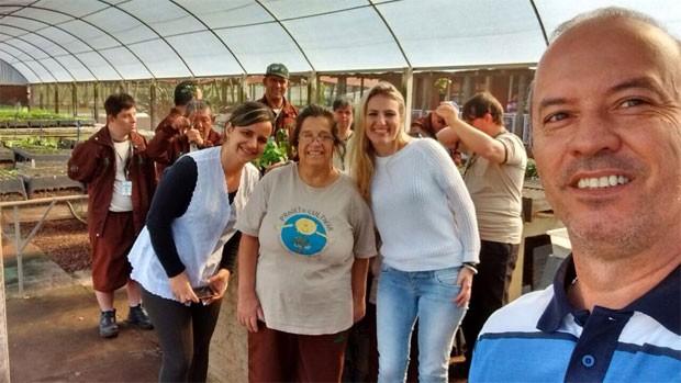 Projeto Cultivar Maringá Painel RPC (Foto: Divulgação/RPC)