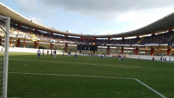 Remo x Palmas no estádio Manguerião (Foto: Marcel de Paula/ TV Anhanguera)