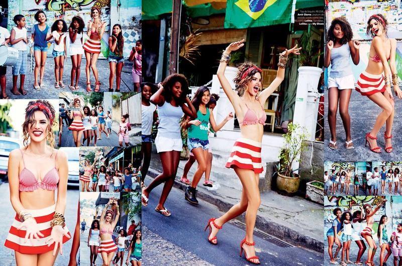 Alessandra Ambrosio por Ellen Von Unwerth para a Vogue Brasil de Setembro 2014 (Foto: Arquivo Vogue)