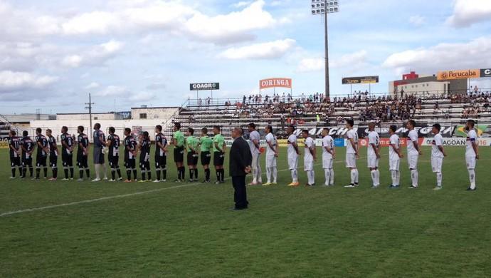 ASA x Santa Rita, no Estádio Coaracy da Mata Fonseca (Foto: Arquivo Pessoal/Jânio Barbosa)