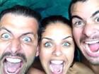 Henri Castelli curte Punta Cana com Thiago Martins e Paloma Bernardi
