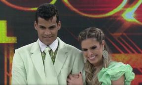 Marcello Melo Jr e Raquel Guarini na final da Dança 2014 (Foto: TV Globo / Divulgação)