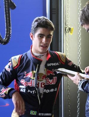 Sérgio Sette Câmara teste Fórmula 1 STR Silverstone