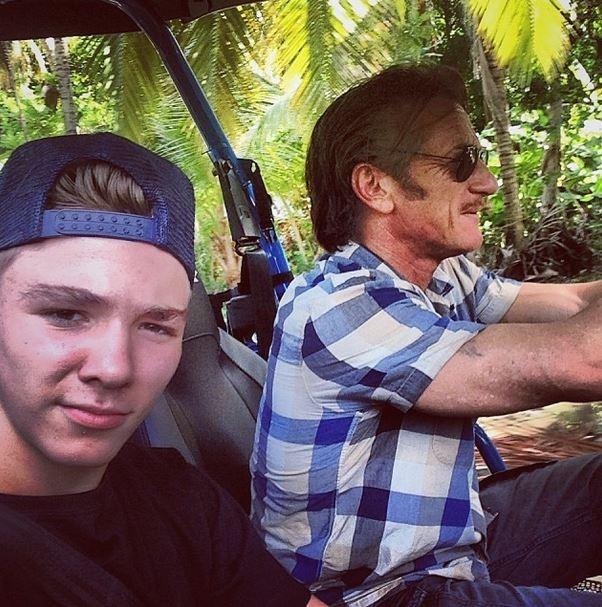 Rocco, filho da Madonna, e Sean Penn (Foto: Instagram / Reprodução)