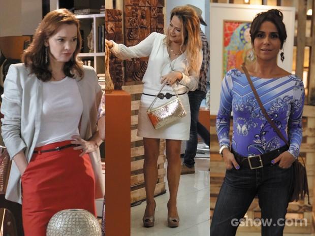 Os cintos estão com tudo no guarda-roupa de Em Família (Foto: Pedro Curi;Em Família/TVGlobo)