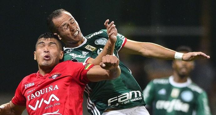 Palmeiras x Jorge Wilstermann Guerra (Foto: Marcos Ribolli)