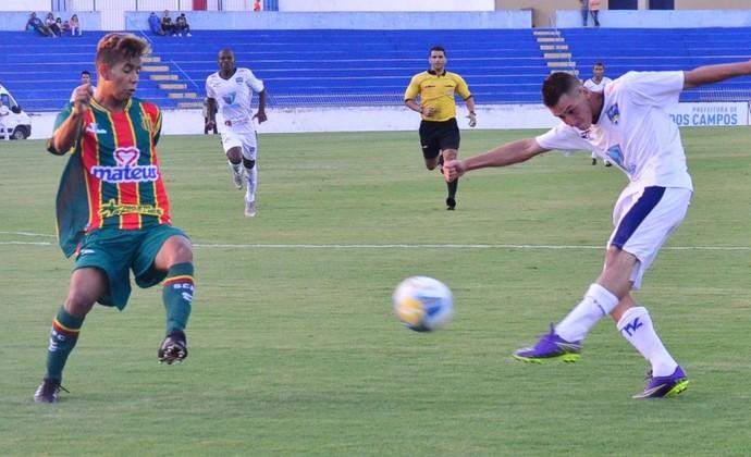 São José FC perdeu para o Sampaio Corrêa nessa terça-feira (Foto: Tião Martins/PMSJC)