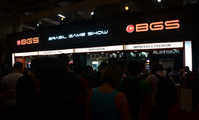 Brasil Game Show 2014 teve público acima de 250 mil pessoas (Foto: Matheus Vasconcellos / TechTudo)