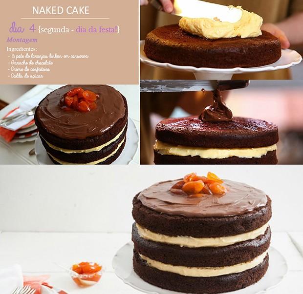 'Cozinha Prtica' - Ep. 14 - Dirio do Naked Cake - Dia 4 (Foto: Giovanna Nadruz)