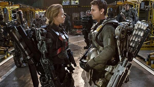 Tom Cruise e Emily Blunt em No Limite do Amanhã (Foto: Divulgação)