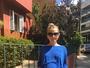Vitória Frate exibe o barrigão de grávida em foto na web