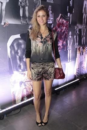 Ellen Jabour em evento em São Paulo (Foto: Paduardo/ Ag. News)