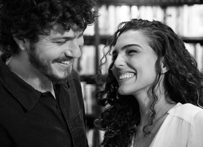 Felicidades ao casal!!! (Foto: Isabella Pinheiro/Gshow)