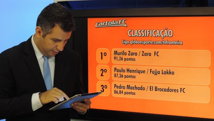 Murilo Zara, Cartola FC Presidente Prudente (Foto: Murilo Rincon / GloboEsporte.com)