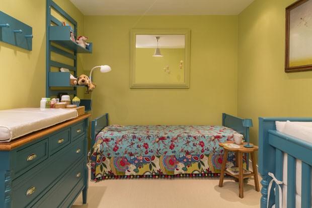23 quartos para sonhar acordado Casa Vogue Ambientes ~ Quarto Rosa E Azul Tiffany