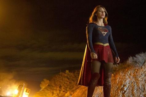 Melissa Benoist é Kara Zor-El em Supergirl (Foto: Divulgação)