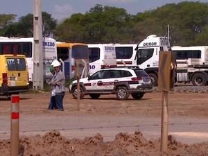 Acidente em área de ampliação de Viracopos mata jovem em Campinas (Foto: Alfredo Morgante / EPTV)