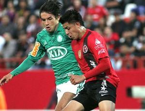 Tiago jogo Tijuana (Foto: AFP)