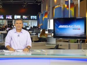 Werton Araújo participa do Redação SporTV (Foto: César Hipólito/TV Mirante)