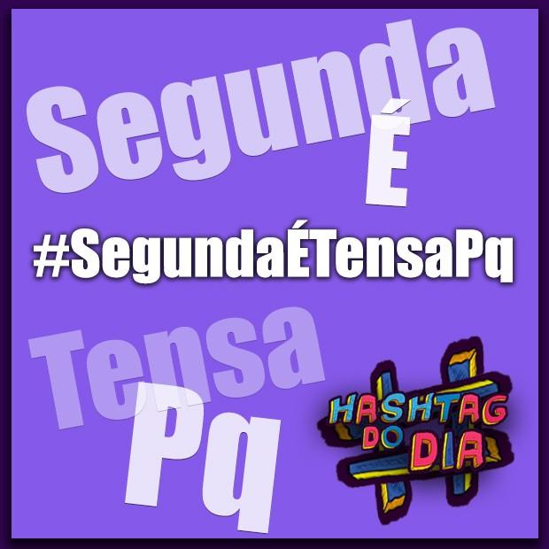 Hashtag do dia: Segunda é tensa pq... (Foto: Malhação / TV Globo)