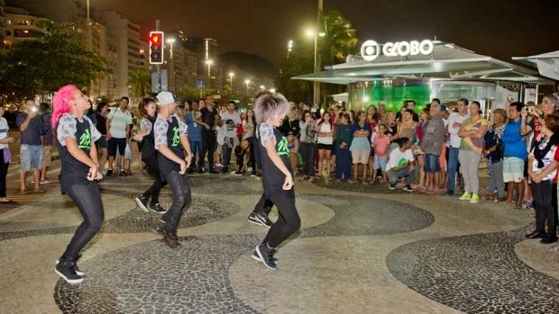 Público assistiu a performances de dança (Foto: Divulgação/ Globo)