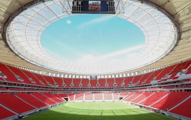 estádio Mané Garrincha (Foto: Lula Marques / Secopa-DF)