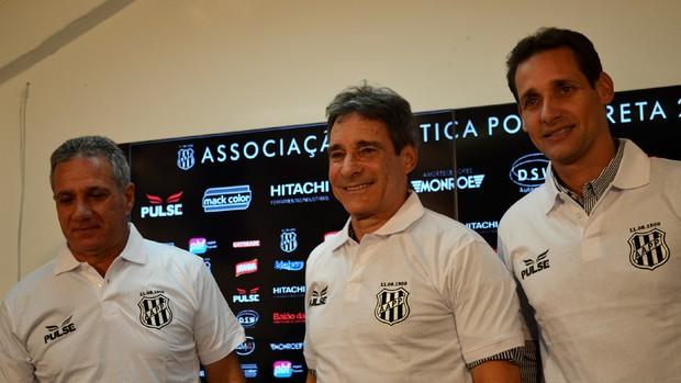 Paulo César Carpegiani, novo técnico da Ponte (Foto: Heitor Esmeriz)