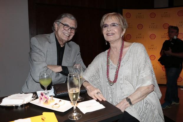 Tarcísio Meira e Glória Menezes (Foto: Rafael Cusato/Brazil News)