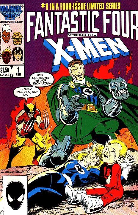'Fantastic Four vs X-Men' (1987) (Foto: Divulgação)