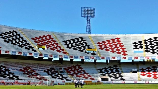 Estádio do Arruda - Santa Cruz (Foto: Divulgação/Santa Cruz)