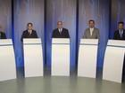 Candidatos à Prefeitura de Rio Preto, SP, chegam para debate na TV Tem
