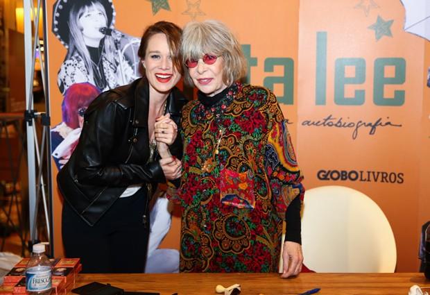 Mariana Ximenes e Rita Lee (Foto: Manuela Scarpa e Marcos Ribas/Brazil News)