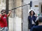 Penélope Cruz grava cenas de novo filme nas ruas de Sarajevo