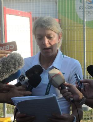 Kitty Chiller, chefe de missão, Austrália, Vila Olímpica, Rio 2016 (Foto: Marcos Guerra)