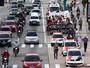 Protesto por redução da tarifa bloqueia trecho da Belmira Marin