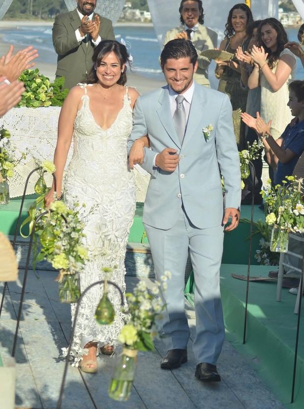 Daniela Escobar e Juliano Bruno Gissoni (Foto: Alex Palarea/Léo Marinho)