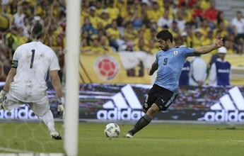 Suárez empata com Crespo na ponta da artilharia histórica das eliminatórias
