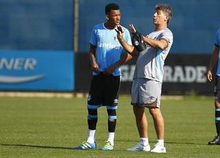 Grêmio treino Renato Gaúcho Jailson Grêmio (Foto: Lucas Uebel/Divulgação Grêmio)