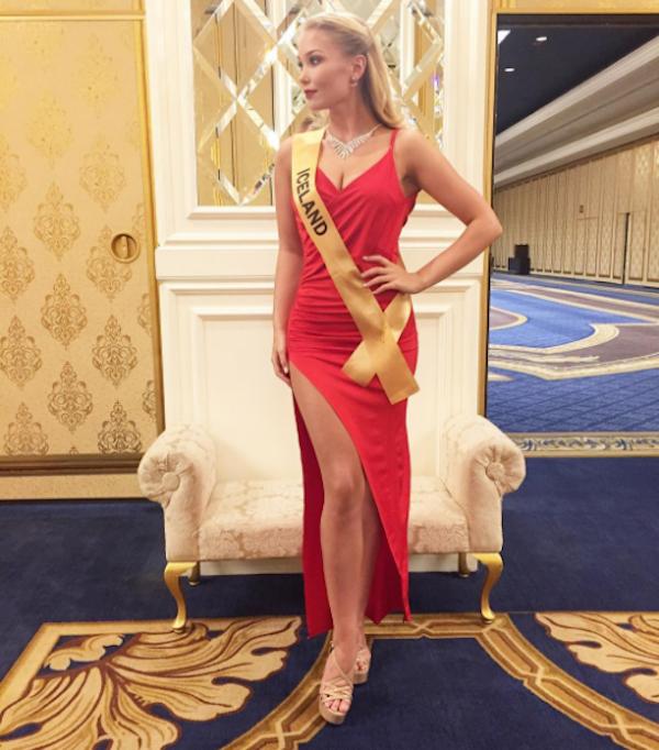 A modelo Arna Ýr Jónsdóttir  (Foto: Instagram)