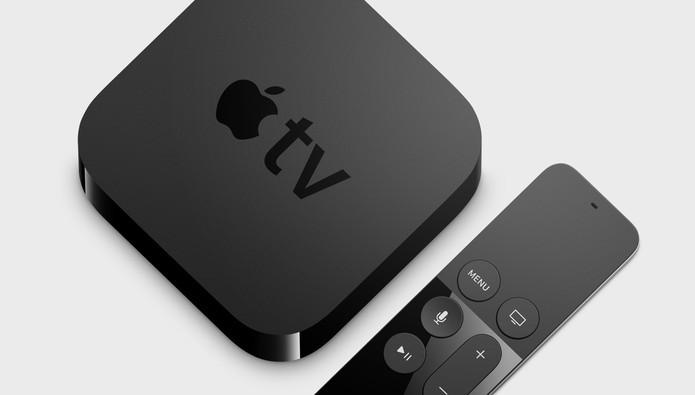 Nova Apple TV traz controle com touchpad e compatibilidade com Siri (Foto: Divulgação/Apple)