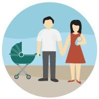 Selo de salário-família e salário-maternidade (Foto: Editoria de Arte/G1)