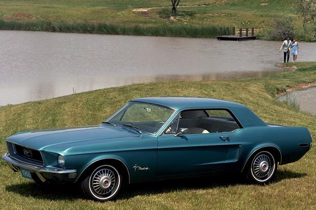 Ford Mustang Coupé 1968 (Foto: Divulgação)