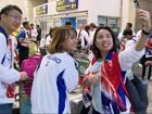 Aeroportos ficam lotados de atletas que chegam ao Rio para Paralimpíada