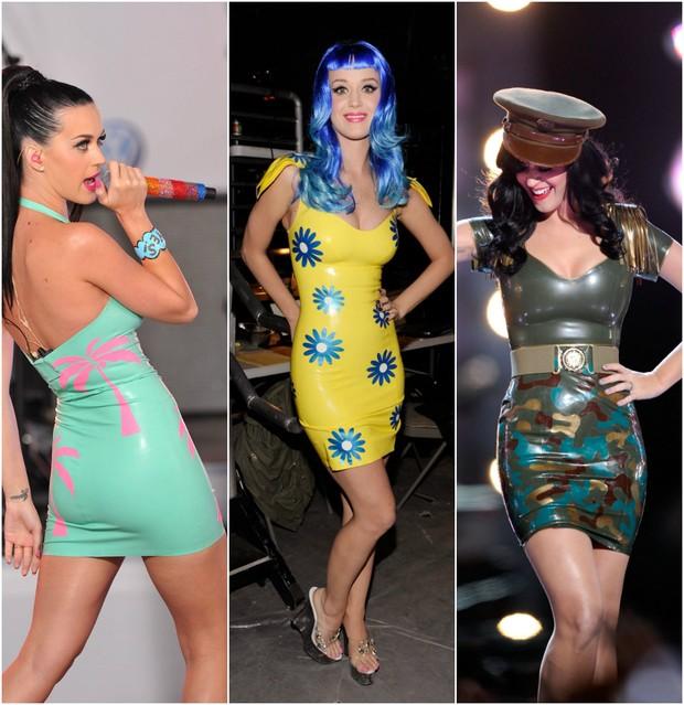 A cantora Katy Perry é fã das peças em látex (Foto: Getty Image)