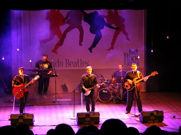 Show conta histórias da banda de Liverpool (Foto: Divulgação)
