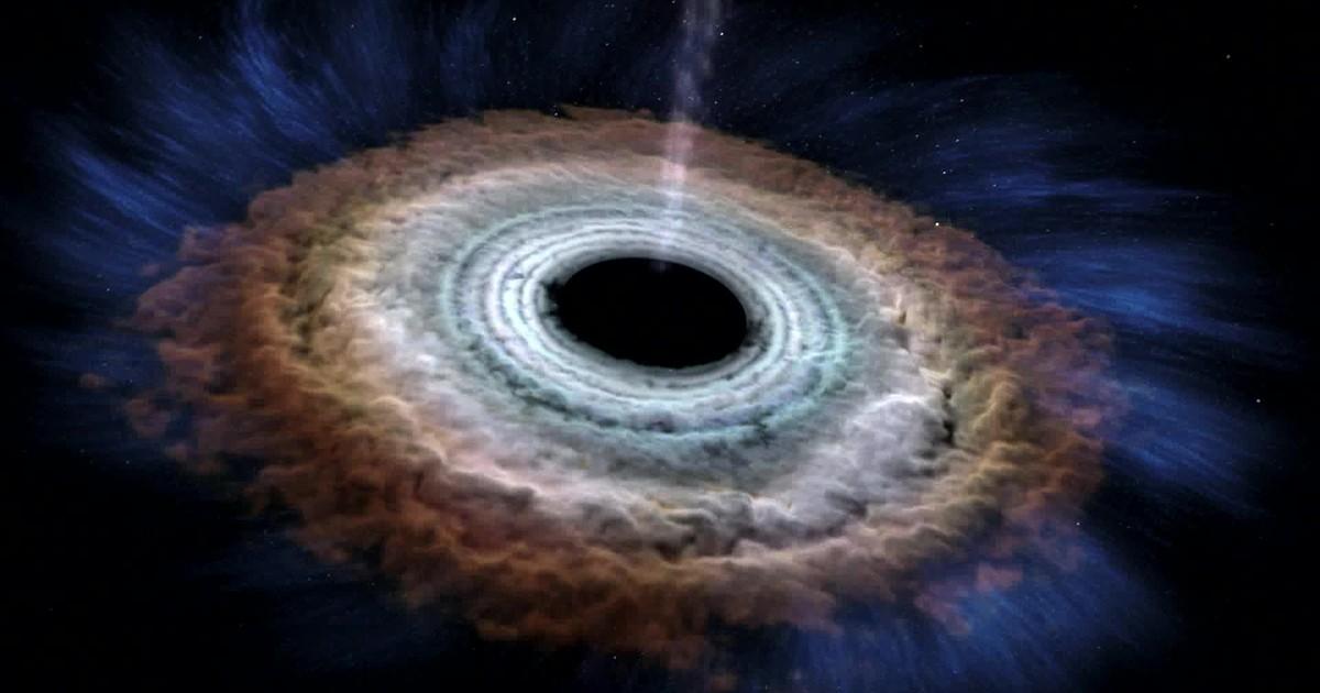 Telescópios flagram buraco negro engolindo estrela e formando disco