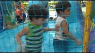 """Criançada faz a festa no """"Sacode a Praça"""" em Cruzília (MG)"""